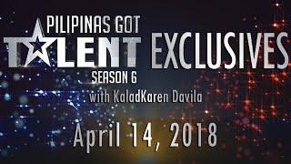 Video Pilipinas Got Talent Season 6 Exclusives - April 14, 2018 MP3, 3GP, MP4, WEBM, AVI, FLV Oktober 2018
