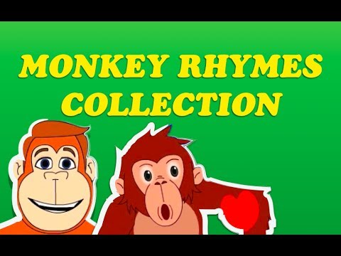 monkey - Here comes the popular nursery rhyme collection