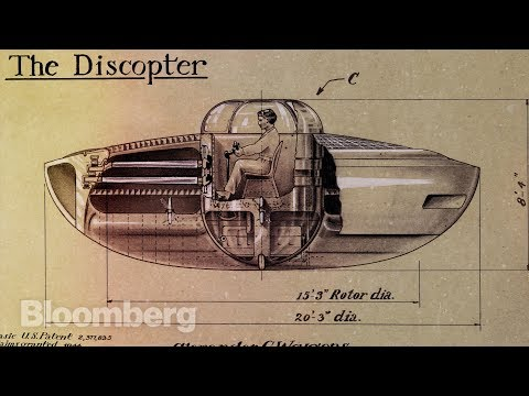 The Mysterious Genius Who Patented the UFO