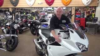 9. 2014 Honda 800cc V-4 Interceptor - Introduction and Highlights