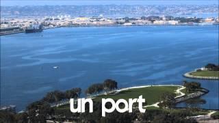 Französisch lernen # 1 time lapse # un port