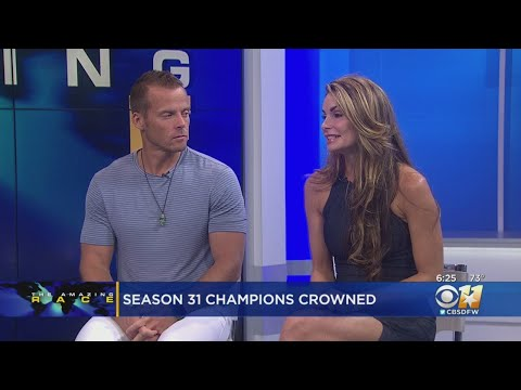 """Winners Of """"The Amazing Race"""" Stop by CBS 11"""