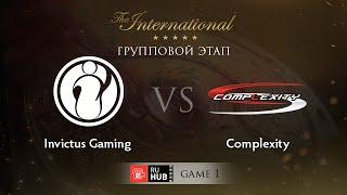coL vs IG, game 1