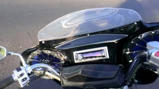 7. Yamaha vstar 1100 radio fairing