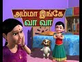 Video: Amma Ingae Vaa Vaa - Tamil Rhymes 3D Animated