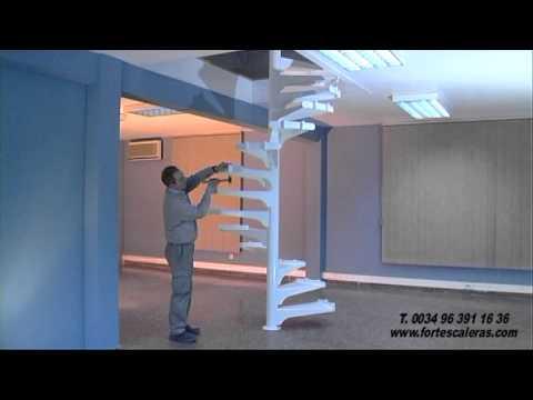 Escalera de caracol videos videos relacionados con for Como hacer escaleras de caracol de concreto