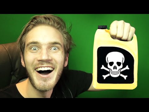 ANTI-FREEZE DRINKING CHALLENGE!