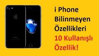 iphone 10 Bilinmeyen Özellik Detaylı Anlatım (10 Kullanışlı ipucu)!