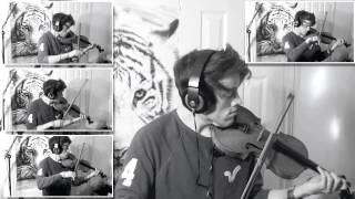 - Debut album found at: http://joelgrainger.bandcamp.com/album/wanderer- Find me on Facebook: https://www.facebook.com/joelviolinI've been listening to track a lot lately, and after jamming along on violin, decided to try a string arrangement. The violin parts are layered using Logic (the most key of which are shown on video) The melodies were from ear so don't have any sheet music for you guys unfortunately! Would love to know thoughts!Joel :)