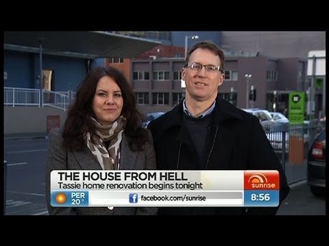 tassie - The Tassie home renovation will begin on House Rules. Tasmanian team Plinio and Jane chat to Sunrise about their plans.