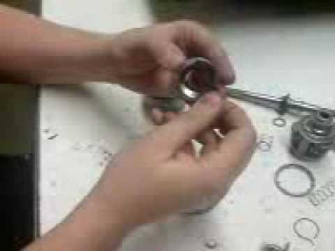 7-Gangnabe in 3 Minuten Auseinander und wieder Zusammengebaut