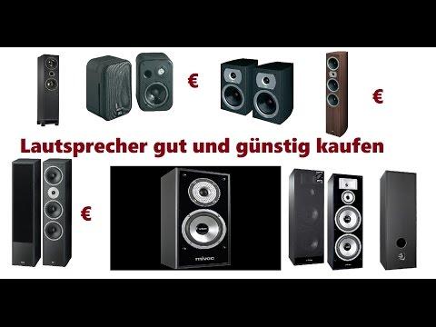 Lautsprecher günstig und gut Kaufen Welcher ist gut
