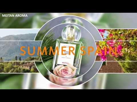 Парфюмерная вода для женщин «Summer Spain» MEITAN AROMA MeiTan