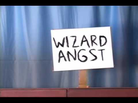 angst - http://www.potterpuppetpals.com Harry Potter feels cranky and pubescent today, and he doesn't know why.