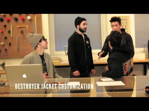 0 Nike Stadium MFG Features  Edison Chen Destroyer Jacket | Video