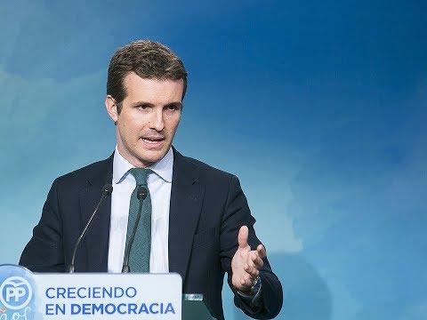 """Casado: """"El PP pide concordia, convivencia y no re..."""