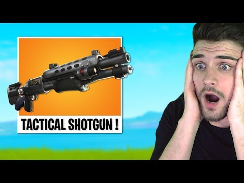*NOU* Fortnite UPDATE | NOUL TACTICAL SHOTGUN !