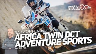 6. HONDA AFRICA TWIN ADVENTURE SPORTS DCT | TEST 2018