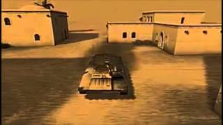 This is the background movie from the final version of the popular Desert Combat mod for Battlefield 1942. I have the entire song in another movie on my channel.