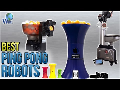 5 Best Ping Pong Robots 2018
