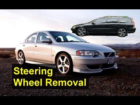 Steering wheel removal, P2 Volvo, V70, S60, etc - VOTD