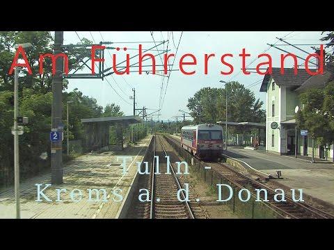 Führerstandsmitfahrt Tulln - Krems/Donau [HD] - Cab Ride ÖBB 1144