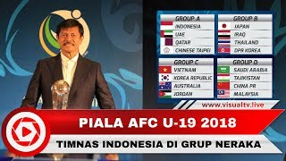 Video Timnas Indonesia Masuk Grup Neraka AFC U-19, Indra Sjafri Optimistis MP3, 3GP, MP4, WEBM, AVI, FLV Oktober 2018