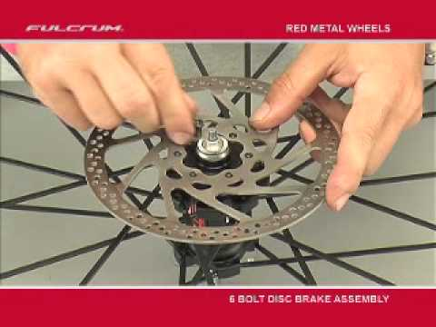 Fulcrum Red Metal Wheels - Assembling 6 bolt disc brake