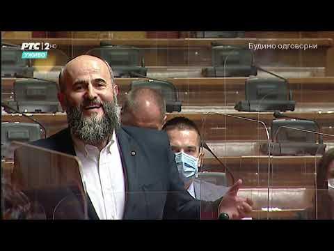 Obraćanje u Skupštini 29. 04. 2021. g. – Akademik Muamer Zukorlić i diskusija sa ministrima