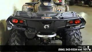 6. 2016 Can-Am Outlander XT 570 Mossy Oak Break-Up Country C...