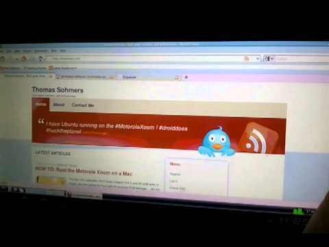 Ubuntu on the Motorola Xoom