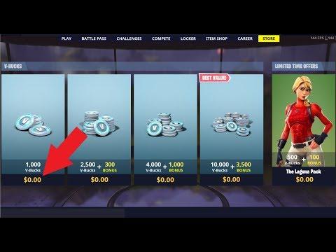free v bucks in fortnite channel gt gaming - get v bucks generator