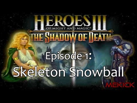 Heroes of Might and Magic III: Necropolis 1v7 (200%) (видео)