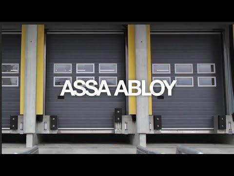 Überladebrücke ASSA ABLOY DL6120ST Stepdock Inside