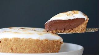 No-Bake S'more Pie - Gemma's Bigger Bolder Baking Ep  127 by Gemma's Bigger Bolder Baking