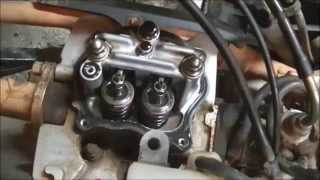 9. 2001 Honda Recon valve clearance adjustment