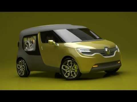 renault frendzy un futur kangoo lectrique voiture. Black Bedroom Furniture Sets. Home Design Ideas