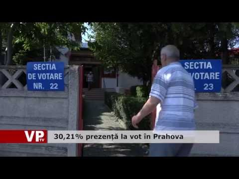 30,21% prezență la vot în Prahova