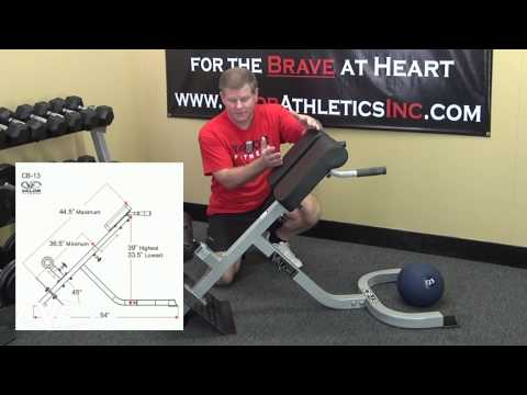 Valor Fitness CB-13 Back Extension