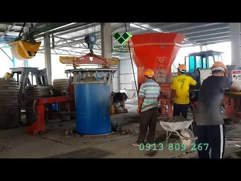 Dây Chuyền sx Cống Rung Ép - Multicast - Vinh Sơn Co., Ltd