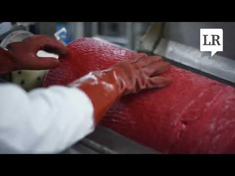 Proceso de elaboración del Bon Bon Bum en la planta de Colombina