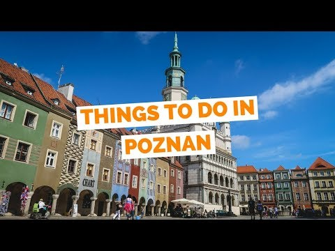 10 Things to do in Poznań, Poland Travel Guide (видео)