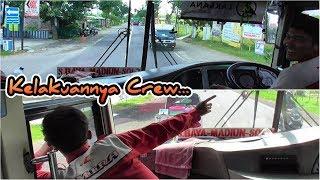 Video KOPLAK.. Crew Gokil Bikin Penumpang Terbahak-bahak | Trip Mira S 7527 US Solo Surabaya MP3, 3GP, MP4, WEBM, AVI, FLV Mei 2019
