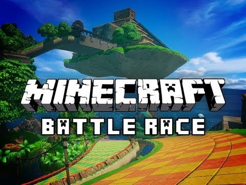 BATTLE RACE: Sonic The Hedgehog in Minecraft with Mitch