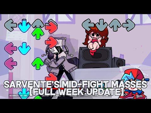 Ruv! Harder! | Friday Night Funkin Mod V.S Sarvente's Mid-Fight Masses [FULL WEEK UPDATE] (HARD)