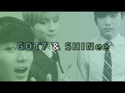 because GOT7 learnt it from SHINee