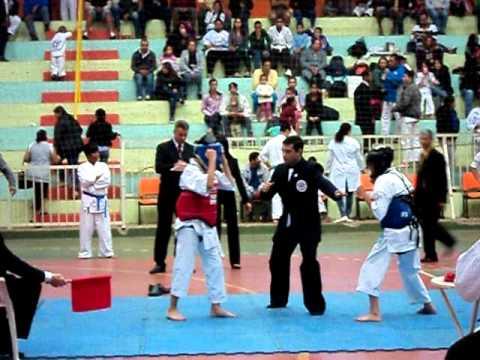 Campeonato de Karatê em Cosmópolis (Thalles)