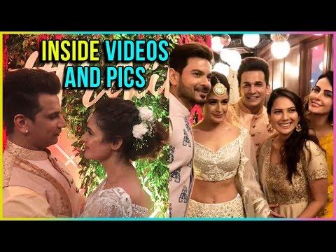 Prince Narula And Yuvika Chaudhary Sangeet Inside