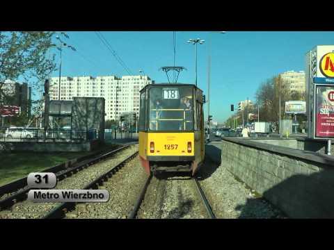 Tramwaje Warszawa linia 31