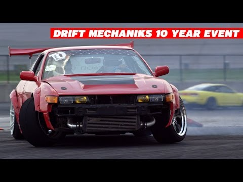 10 years anniversary - The Drift Mechaniks celebrate their 10th anniversary with a private event at Atlanta Motor Speedway. WATCH IN 4K. Keep Drifting Fun was there to document it....